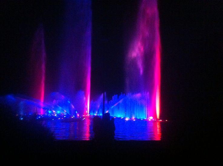 Licht- und Wasserspiele in Planten und Blomen in Hamburg