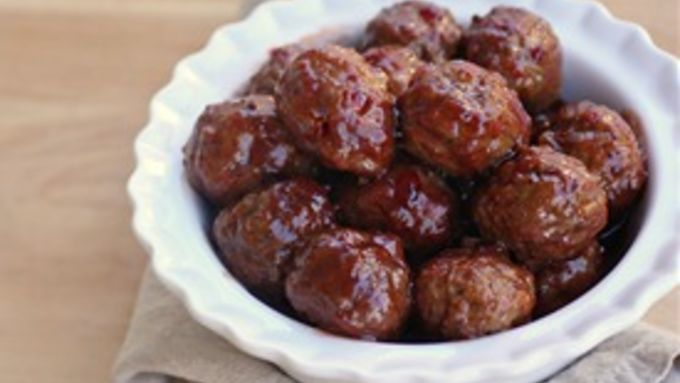 These hearty 3-ingredient meatballs are a party-perfect app no one can resist. (And who would want to?)