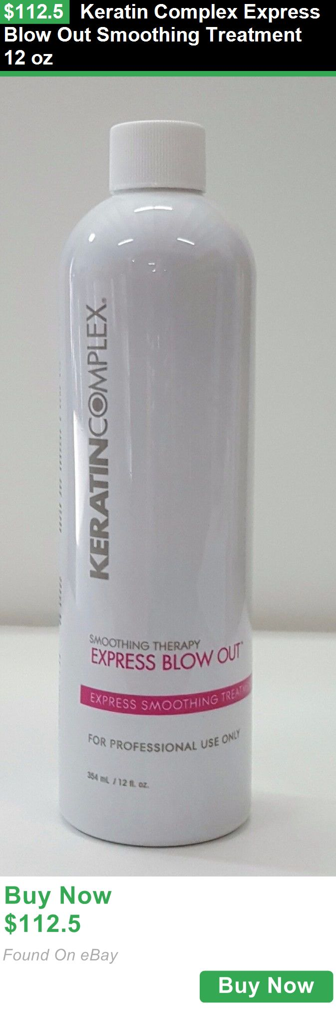 Relaxers and Straightening Prod 177662: Keratin Complex Express Blow Out Smoothing Treatment 12 Oz BUY IT NOW ONLY: $112.5