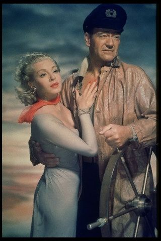 With John Wayne from 'The Sea Chase', 1954 | Flickr - Photo Sharing!
