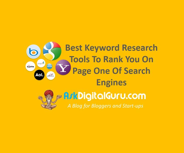 In this blog I will explain the various keyword research tools that are available by which you can do a proper keyword research.