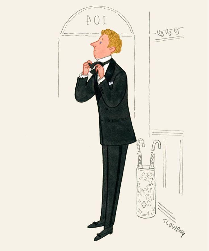 Artist: Fei Wang (Mr. Slowboy) Illustration for King Magazine