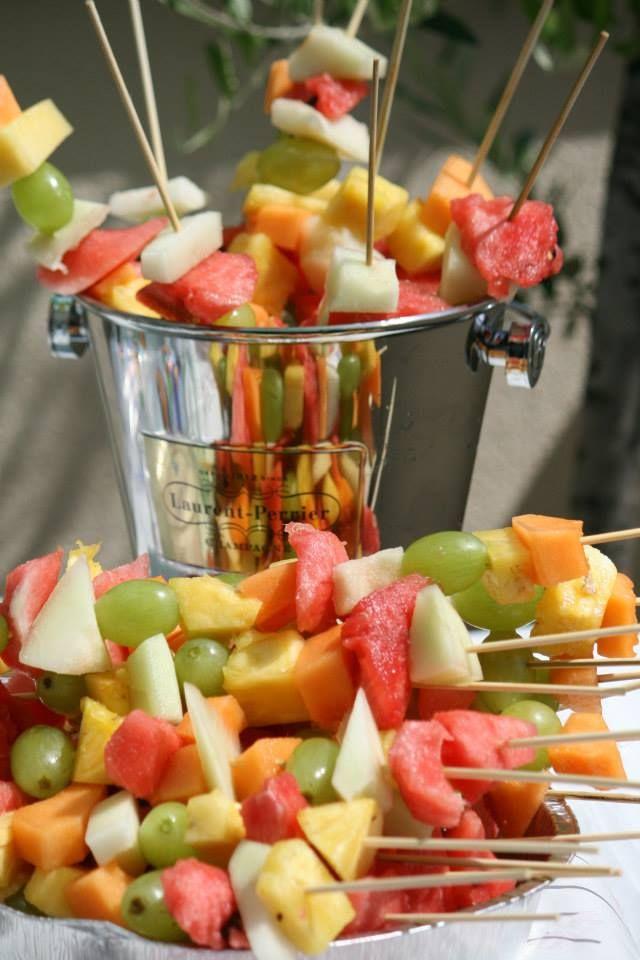 #Spiedini di #frutta all'inaugurazione di casa
