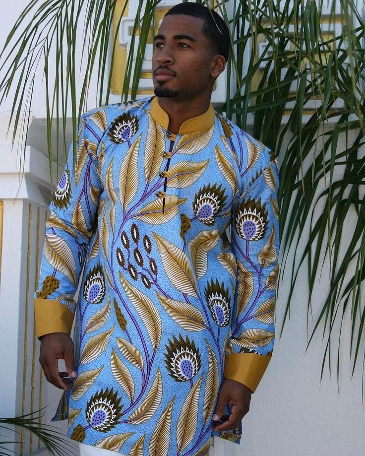 398 Best African Men Shirts Images On Pinterest