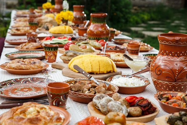 Traditional Romanian Feast