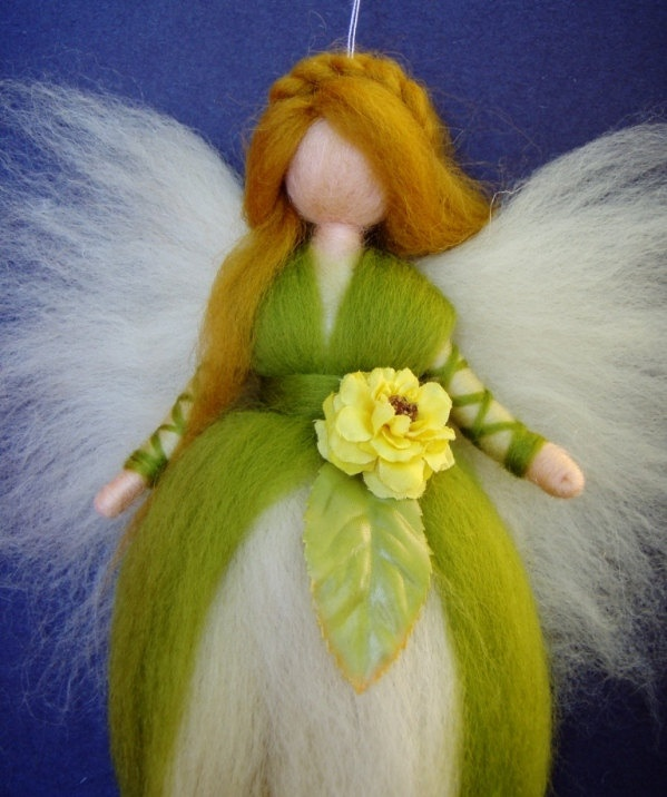 YELLOW ROSE Fairy by Holichsmir of Stuttgart, Germany.