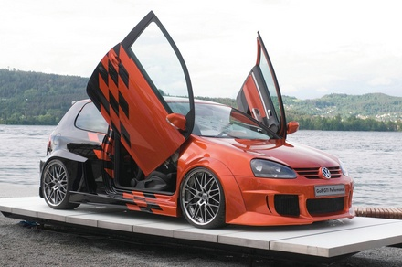 Volkswagen Golf GTI tuned