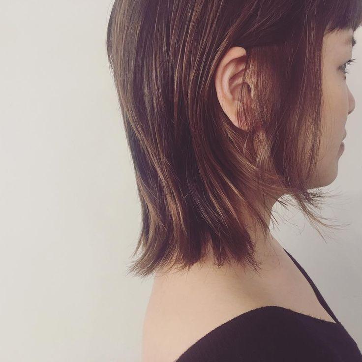 ハイライト ほんの〜りラベンダーピンク #ヘアスタイル#ハイライト#ラベンダーピンク#ヘアカラー#レイヤーカット#サロンスタイル#ざっくりハイライト#秋色#秋スタイル#おすすめ#大阪#梅田#美容師#hairstyle #highlights#haircolor#autumncolor#lavenderpink#fun#osaka#japan#hairdresser #eminobeoka