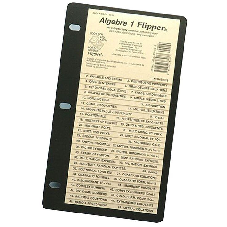 Algebra 1 flipper topics natural numbers whole numbers