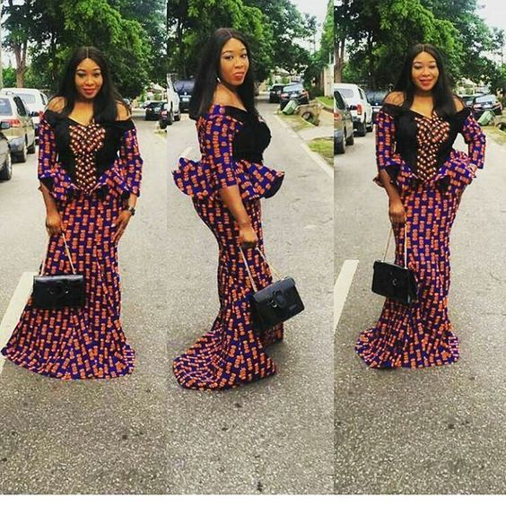 ad45a754e24b8f Classic and Latest Ankara Skirt and Blouse Styles for Beautiful  Ladies...Classic and Latest Ankara Skirt and Blouse Styles for Beautiful  Ladies