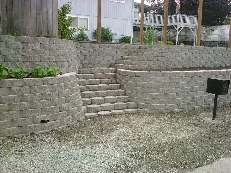 Retaining Wall Functional And Beautiful Father Nature