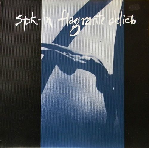 "SPK in Flagrante Delicto 12"" Single 45 RPM UK Import 