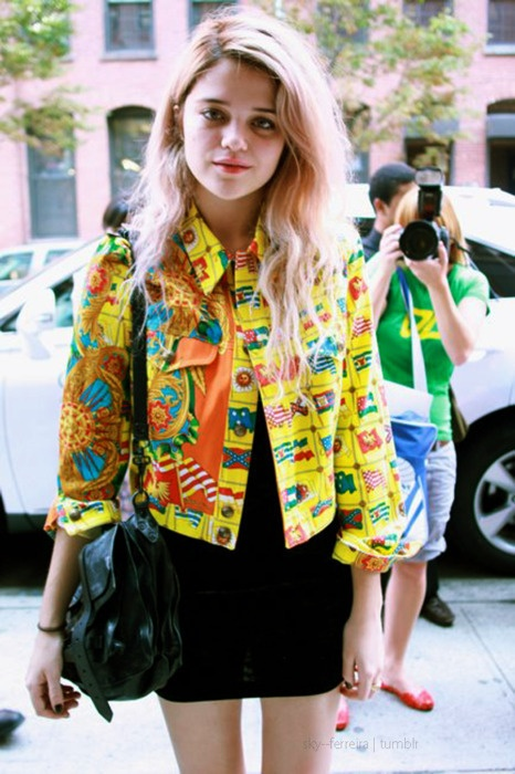 35 Best Images About Sky Ferreira Style On Pinterest Sky Ferreira Fashion Rocks And Over The