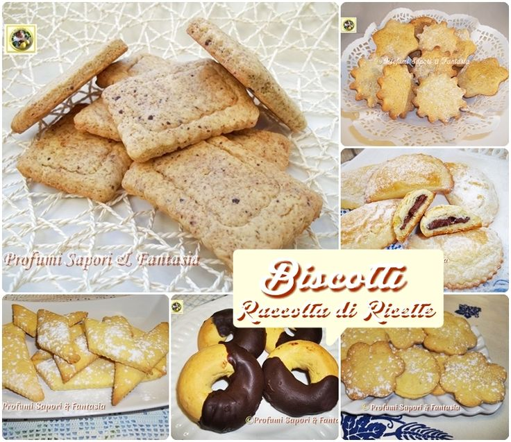 Biscotti per la colazione fatti in casa ricette facili e - Profumi per ambienti fatti in casa ...