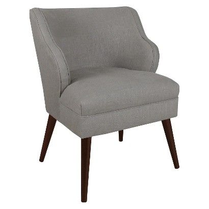 Skyline Custom Upholstered Modern Chair: