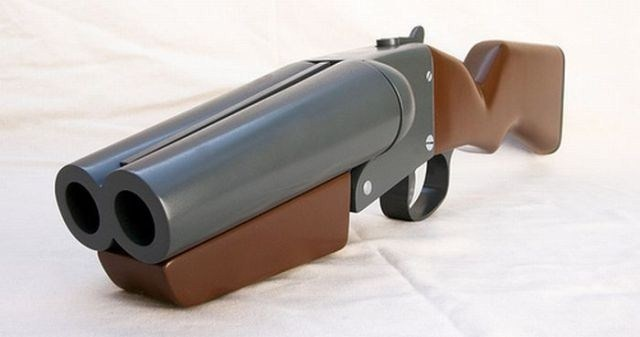 how to make a wooden toy rifle
