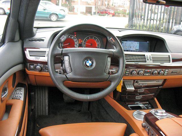 2007 BMW 7 Series 760Li 2007 BMW 760 760Li picture interior