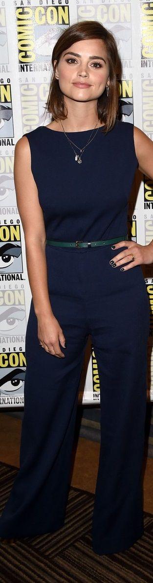 Jenna Coleman – Comic-Con 2015