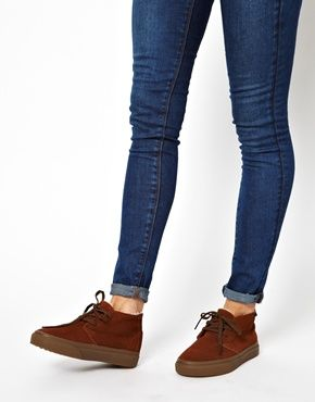 Vans Chukka Decon Mocassin Boots- love these casual shoes