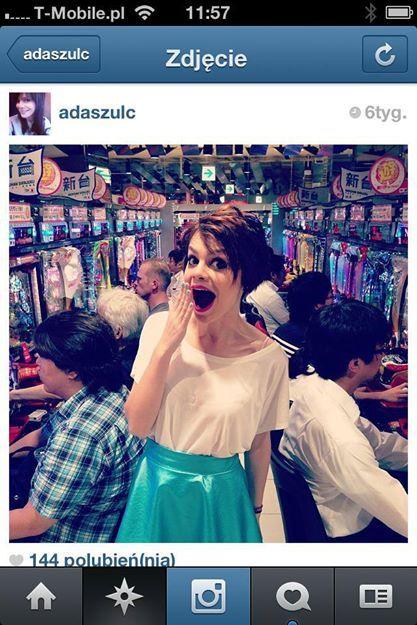 Ada Szulc in Lana Nguyen Skirt