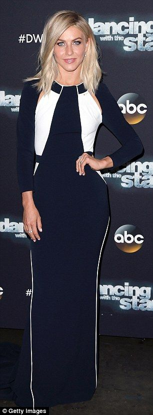 Dressed to impress: Julianne Hough and Newton-John looked super stylish when they attended Dancing With The Stars on Monday in Los Angeles