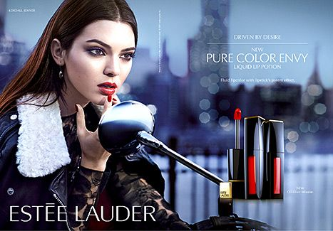 Kendall Jenner Smolders in Estee Lauder's Modern Muse Le Rouge Ads - Us Weekly