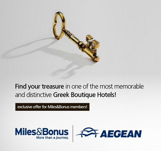 Trésor Hotels and Resorts_Luxury Boutique Hotels_ Escape to the most heavenly hideaways in #Greece, with Aegean Airlines Miles & Bonus.