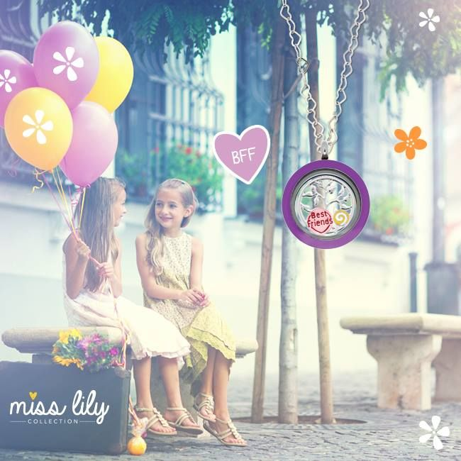 Best Friends Forever charm from our Miss Lily Collection smile emoticon  http://bit.ly/1DrQFBH  Shop now!   #MissLilyCollection