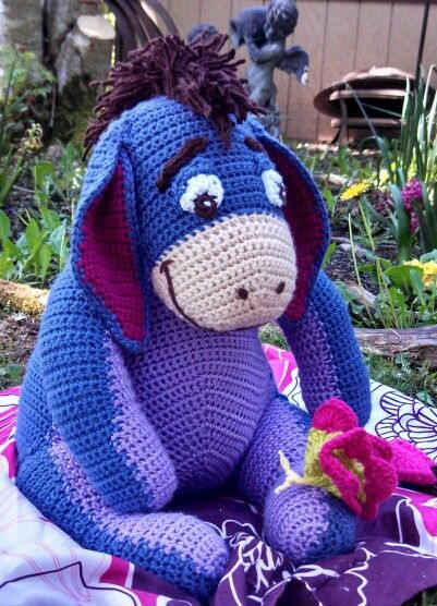 Eeyore My Amigurumi Amp Crochet Creation Eeyore Crochet