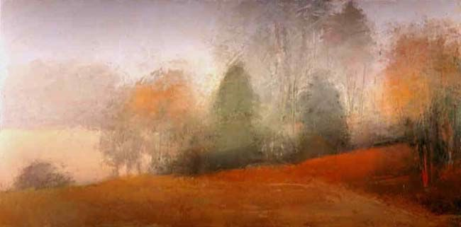 Sheep Pasture / Fog #9 by Irma Cerese