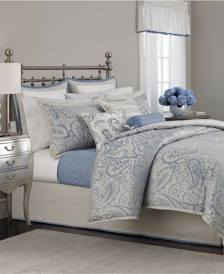 martha stewart collection gemstone paisley 22 piece comforter sets bed in a bag bed