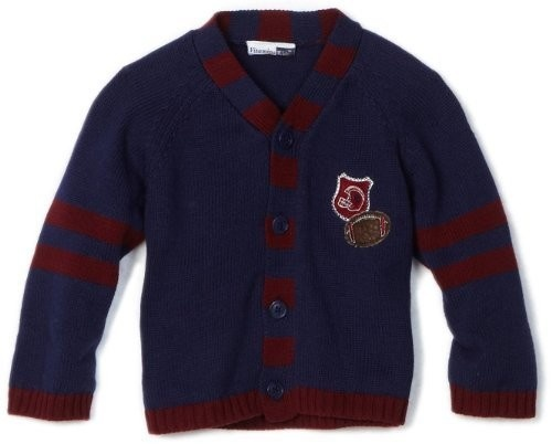 Vitamins Baby-Boys Infant Cardigan Football Sweater: On sale for $24