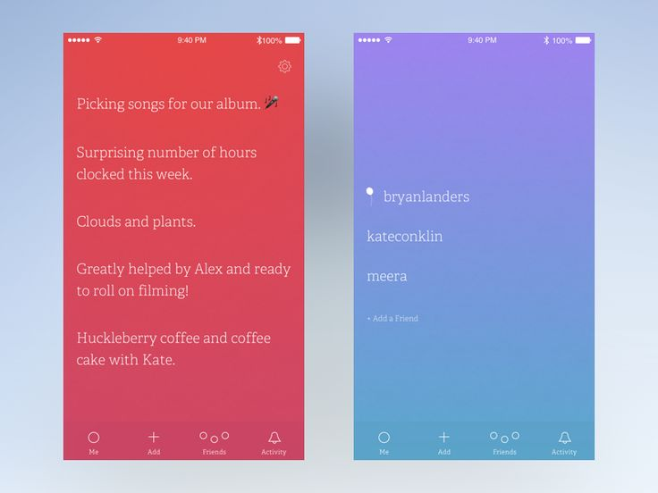Working on adapting an old Facebook app of mine for iOS. It's a minimalist, emotional, personal journal based on the positive psychology intervention 3 good things (or
