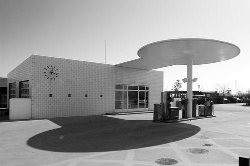 Arne Jacobsen / Skovshoved Gas Station [1936]