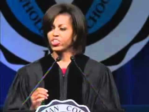 Michelle Obama Delivers the Commencement Speech at Spelman College