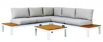 Clay Europe 4 pce modular lounge with cushions