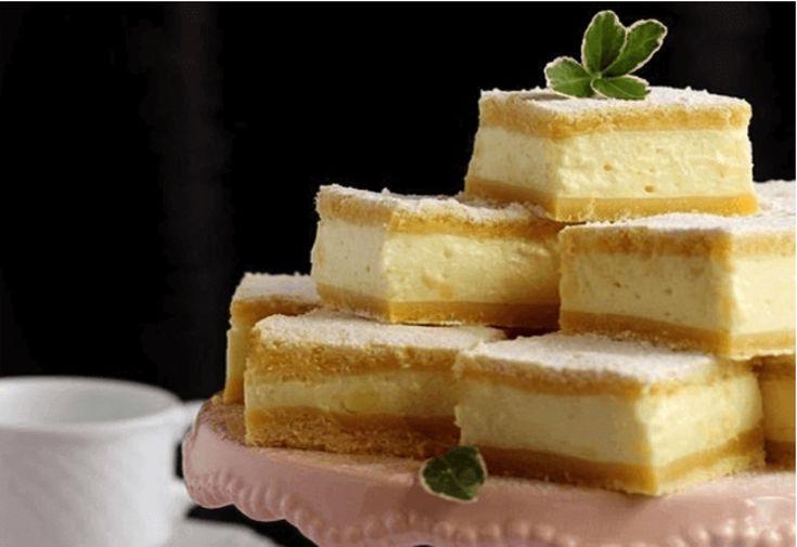 Jednoduchý  smotanový koláč od babičky, ktorý si zamilujete veľmi rýchlo.