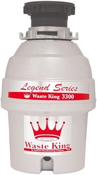 With more powerful hi-speedy motor and ultra-modern grinding technology this Waste King Garbage disposal has come out with a promise to be the market leader. This is also one of the most energy efficient garbage disposals available in the market today. Let's see the technical specifications and features of the Waste King Legend L-3300 garbage disposal.