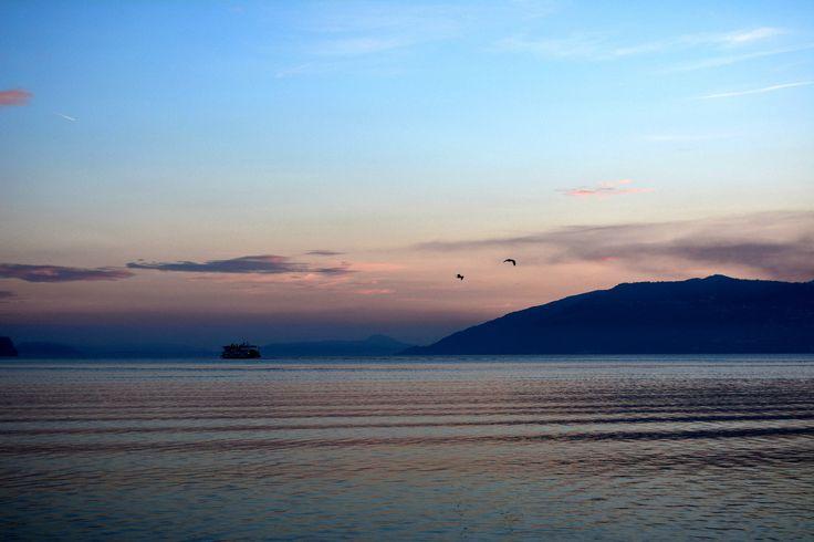 Maggiore Lake - Sunset from Verbania