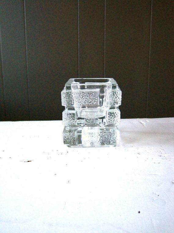 Vintage Sklo Union Teplice Rudolfova Hut Glass by DoceVikaVintage