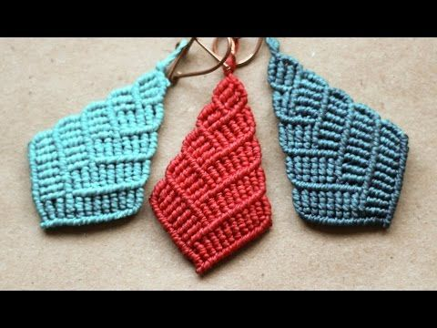 ▶ tutorial aros macramé modelo 20 - YouTube