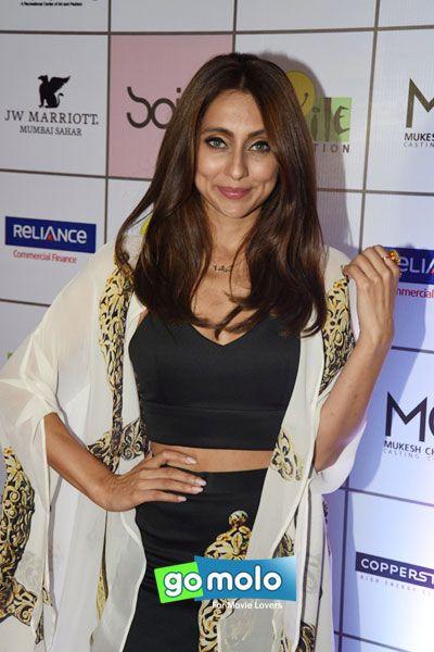Anusha Dandekar at Smile Foundation charity fashion show in Mumbai