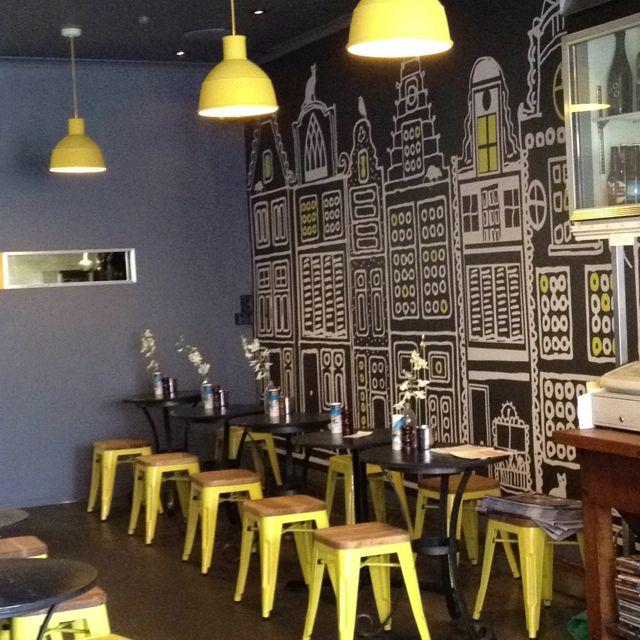 Torch cafe, Melbourne.