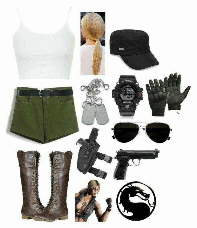 Mortal Kombat The Movie Sonya Blade Costume
