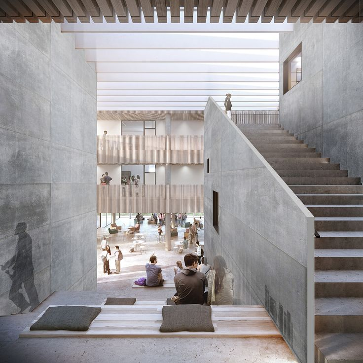 Gallery of Friis & Moltke and WE Architects Win Competition for University…
