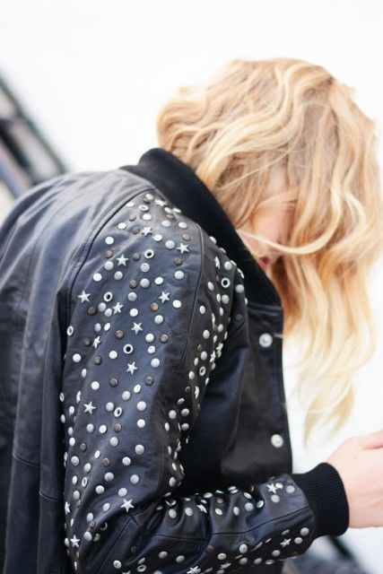 A whole lot cooler than when you were in High School. // A Team Varsity Beaded Jacket
