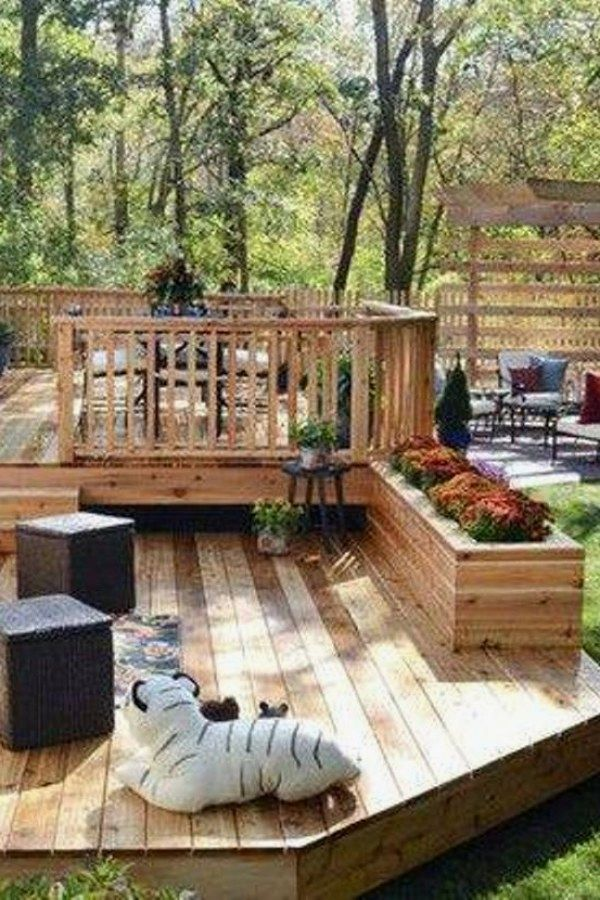 12 Awesome Wood Deck Plans for you to try for your backyard Deck