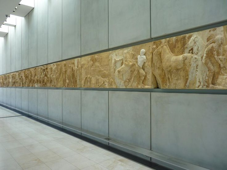 The original museum was founded in 1874. The motivation for the construction of a new museum was the return of the Parthenon Marbles there, since the British officials mentioned that Greece has not the suitable building for them. The new museum opened..