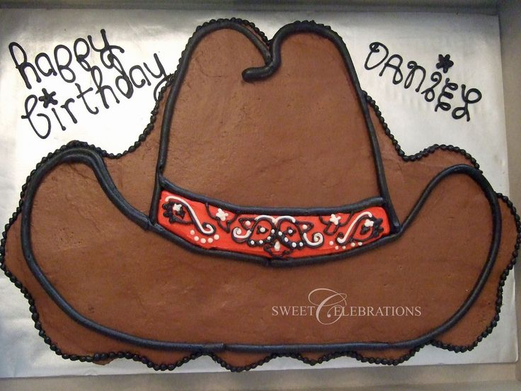 Cowboy Hat Cupcake Cake