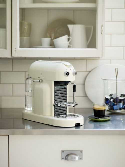Nespresso MAESTRIA Espresso Machine - Ft. Automatic & Programable Coffee Quality, Storage for 6 Espresso Cups and Cup Warming Plate